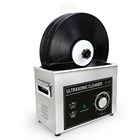 6.5L 180W Mechanical ultrasonic lp vinyl record cleaner (with record holder sold separately)