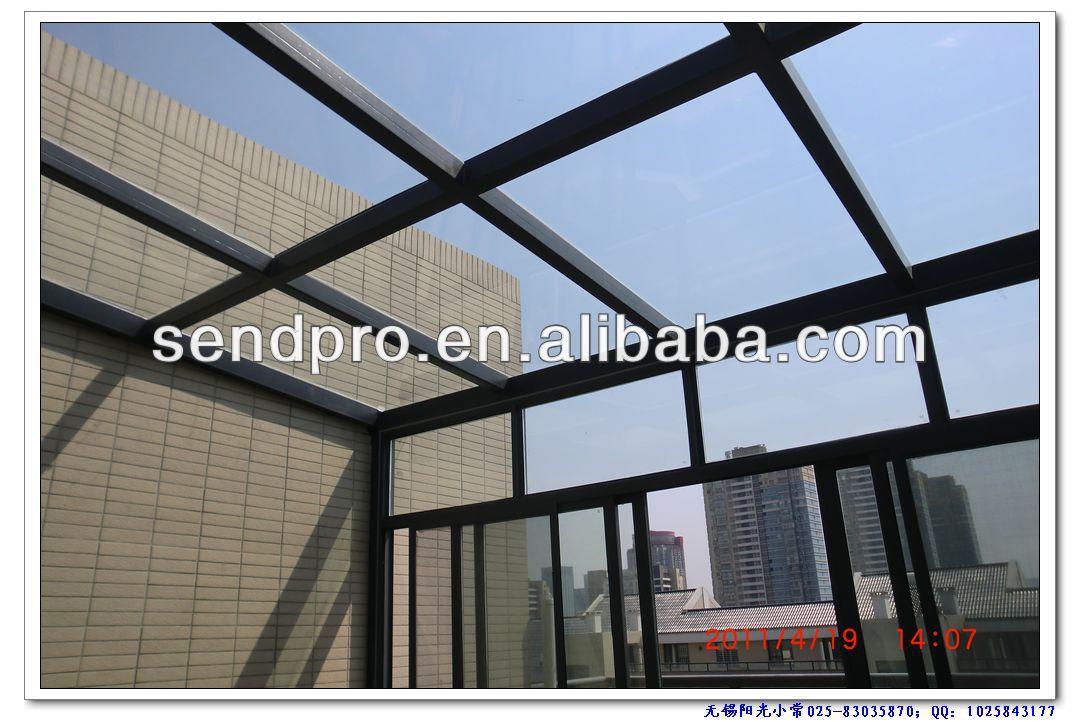aluminium veranda wintergarten hochwertigem aluminium glas winterg rten aluminium balkon. Black Bedroom Furniture Sets. Home Design Ideas