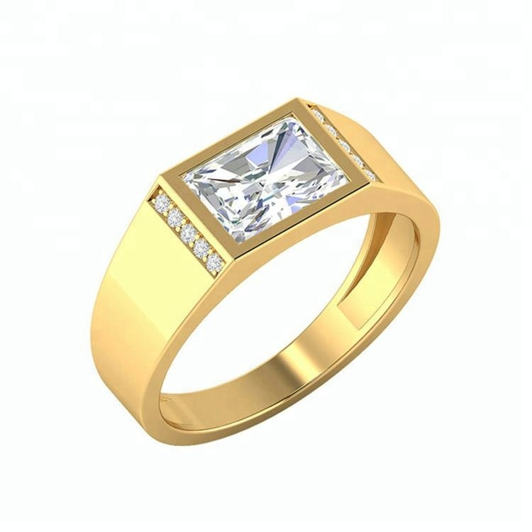 Gents Diamond Ring Design Gold Engagement Wedding Stone Ring Designs For Men Buy Stone Ring Designs For Men Mens Wedding Rings New Gold Ring Models For Men Product On Alibaba Com
