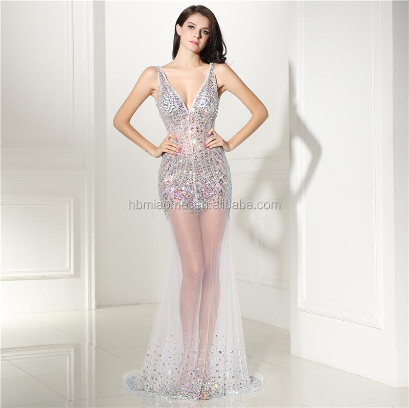 Los vestidos de noche mas sexis