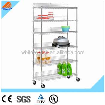 Wire Shelving With Wheels Lowes Stainless Steel Shelving Nsf Chrome Metal  Shelving - Buy Wire Shelving With Wheels,Lowes Stainless Steel Shelving,Nsf