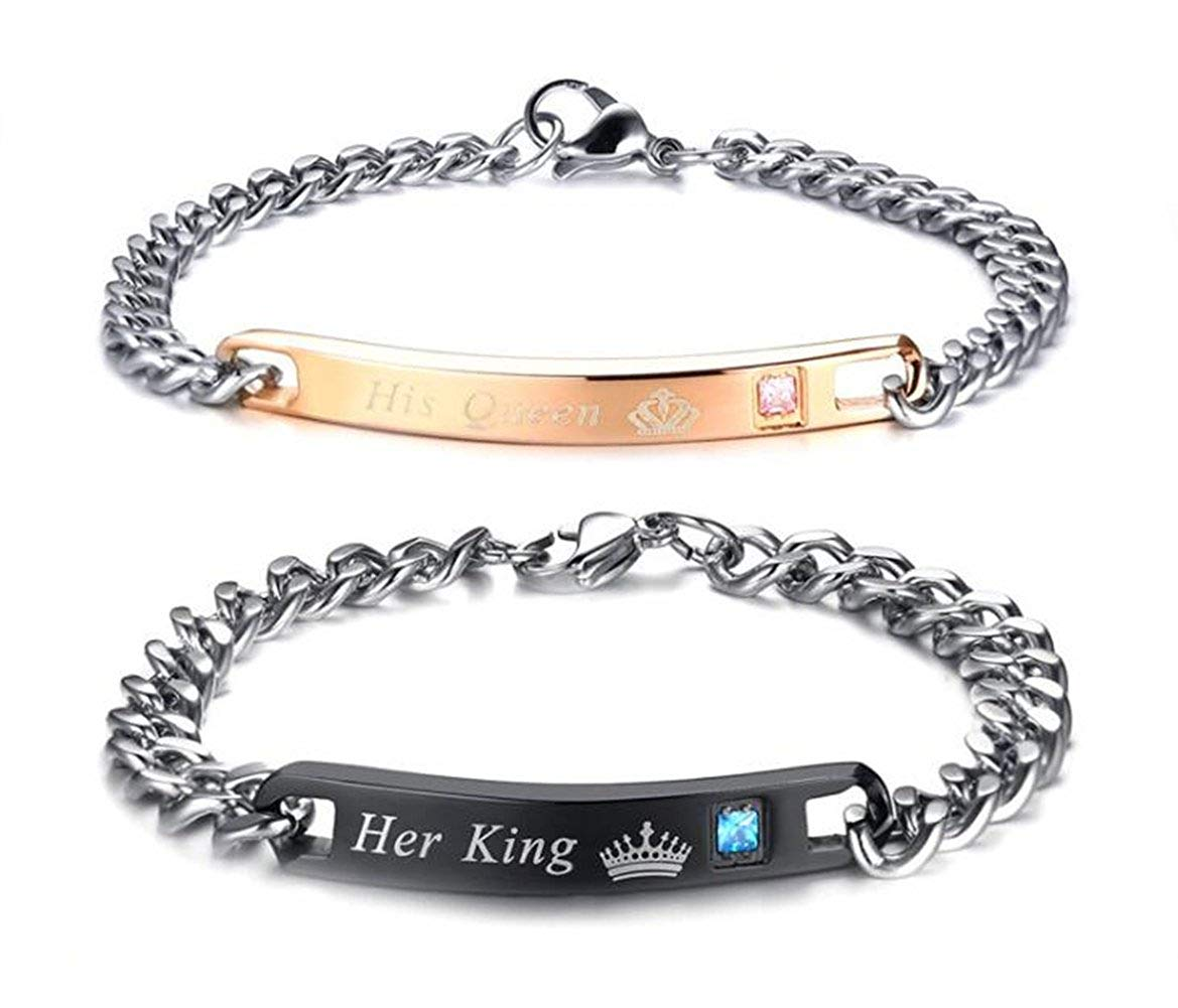 86f1640f4aa53 Cheap Matching Bracelets For Couples, find Matching Bracelets For ...