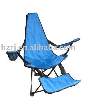 Folding Reclining Camping Chair With Footrest Buy