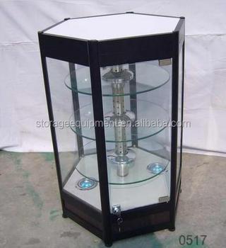 Standaard- Glazen Vitrinekast Kristal Met Led Verlichting - Buy ...