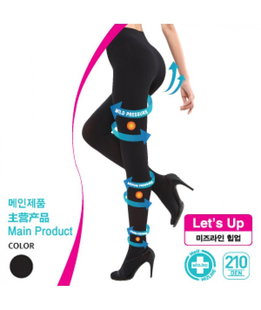 "Mizline ""let's Up 210"" Hip Up Leggings"