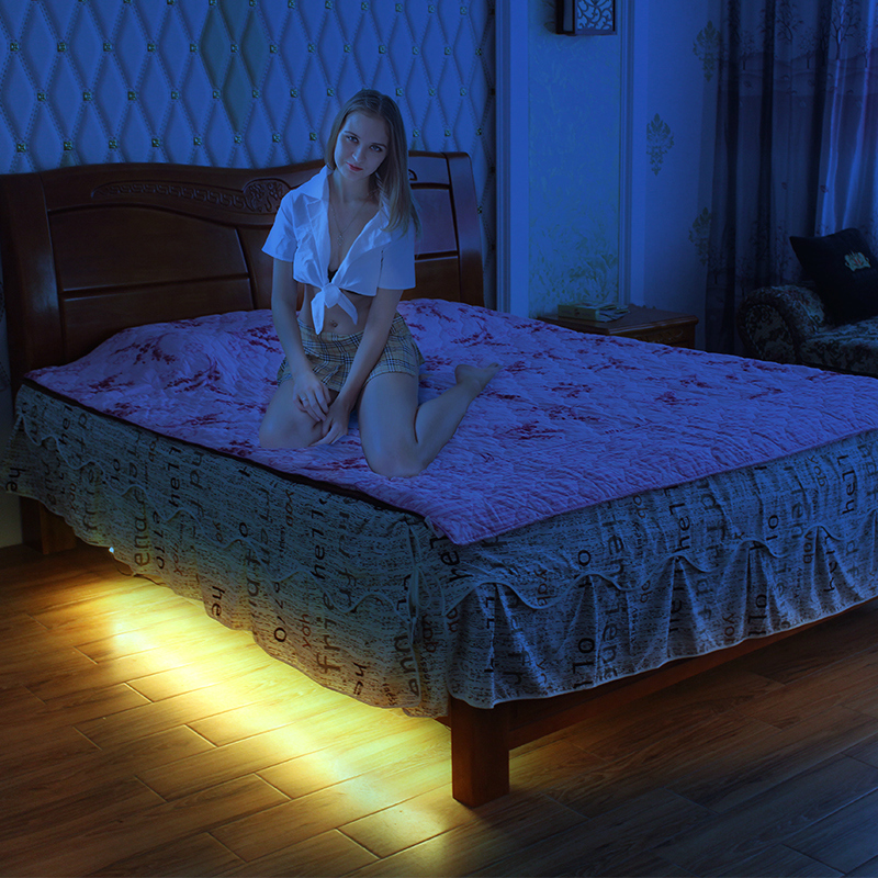 2 led strips 15mpc led underbed light with motion sensor smd3528 2 led strips 15mpc led underbed light with motion sensor smd3528 under bed mozeypictures Image collections
