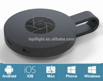 2nd Generation Wireless Trasmettitore MiraCast Proiettore Ricevitore Dongle Mobile DLNA AirPlay ANYCAST
