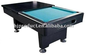 Mdf 7ft Home Use Pool Table With Dining Top Board Dinner Billiard Meal