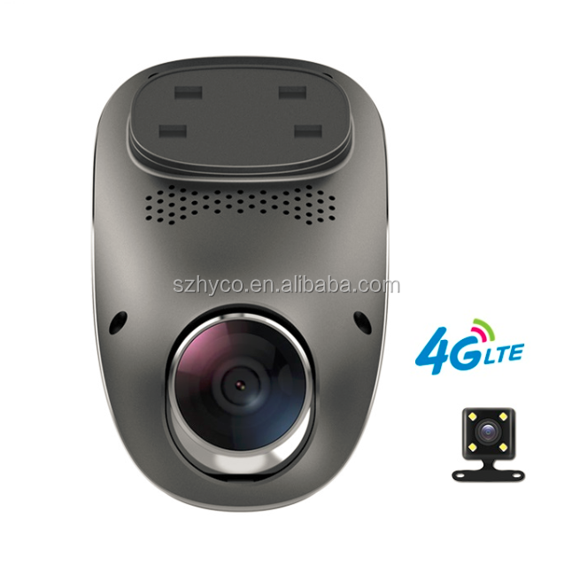 1080p Night Vision dual lens 4G dash cam wifi with gps logger
