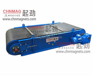 Cross Belt Magnetic Separator for Conveyor Iron Removal