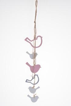 Wood hanging birds mobile string bedroom romantic gift easter buy wood hanging birds mobile string bedroom romantic gift easter negle Choice Image