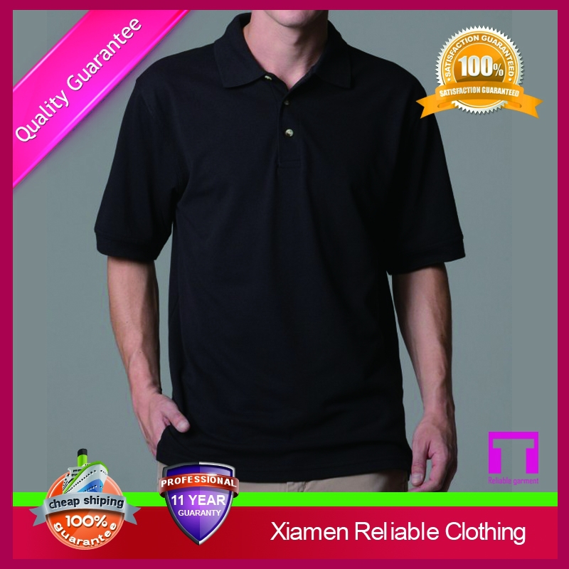 2016 custom 100% combed cotton polo shirts for men in piqued material 21S