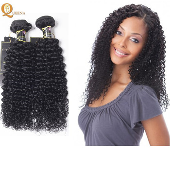 Indian Hair Raw Unprocessed Virgin Jerry Curl Weave South Africa