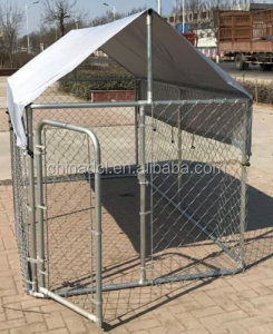 4X2.3X1.8m AustraliaChain Link Large Dog Kennel For Outside/dog creat/dog cage