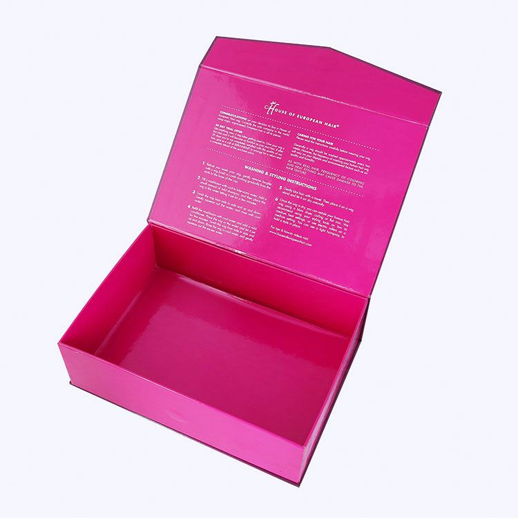 Private Label Makeup Packaging Box untuk Rambut