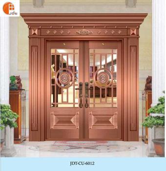 Entrance door design bronze colored steel copper door security door & Entrance Door Design Bronze Colored Steel Copper Door Security Door ...