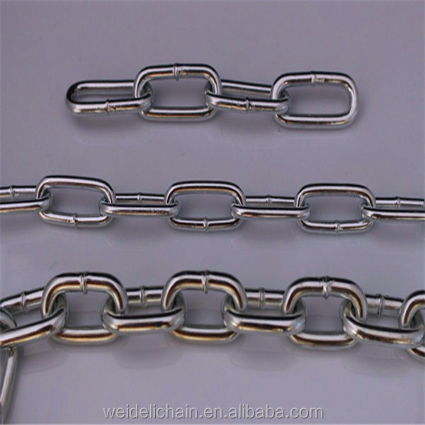 high quality best price china factory ordinary mild steel welded long link chain