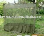 100% polyester military rectangular mosquito net