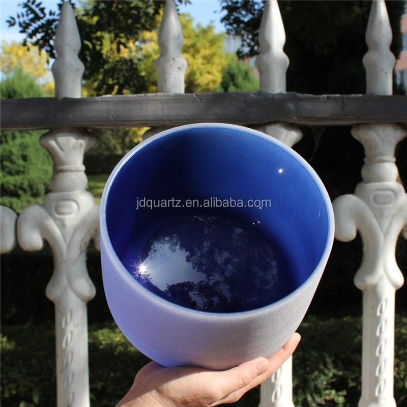 JD Colored Crystal Quartz Singing Bowls as Christmas Gift