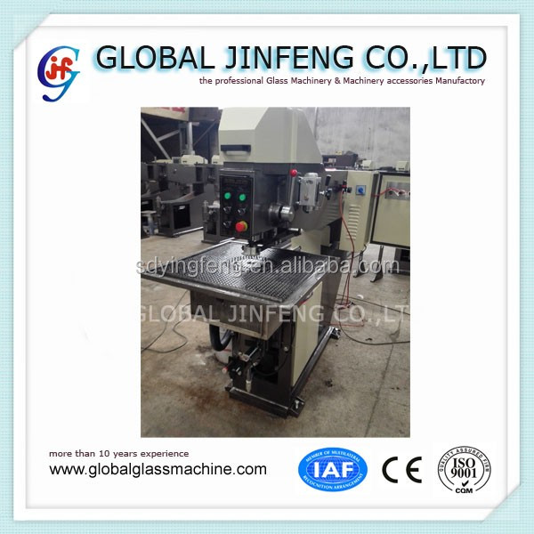 JFO-2 Hot sale horizontal semi-automatic glass drilling machine with CE