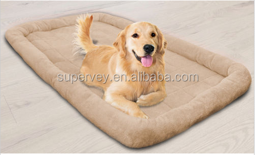 Oxgord Pet Bed Cushion Mat Pad Dog Cat Kennel Crate Cozy Soft House LARGE