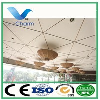 customized integrated celing fireproof ceiling tiles aluminum ceiling tile decorative aluminum ceiling for office use