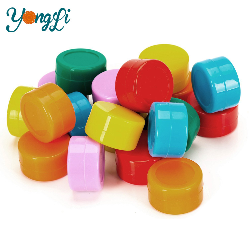 Storage Glass Jars With Tap Decorative Silicone Wax Container