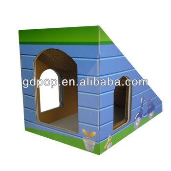 Pet Product Import Cardboard Cat Tree House Cat Scratch Craft Buy