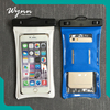 Transparent Leak proof cell phone waterproof pouch