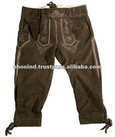Leather Bavarian Shorts Suede Trousers suede jacket short Bavarian Trousers Woman German Shorts