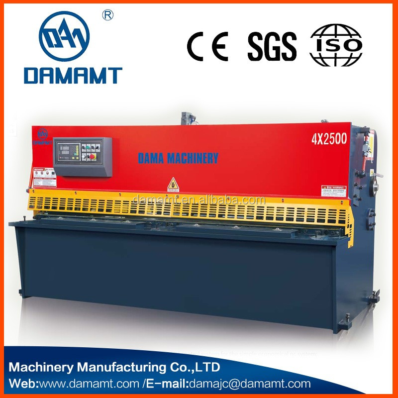 hydraulic cut off machine , hydraulic sheet shearing machine , hydraulic guillotine shearing machine