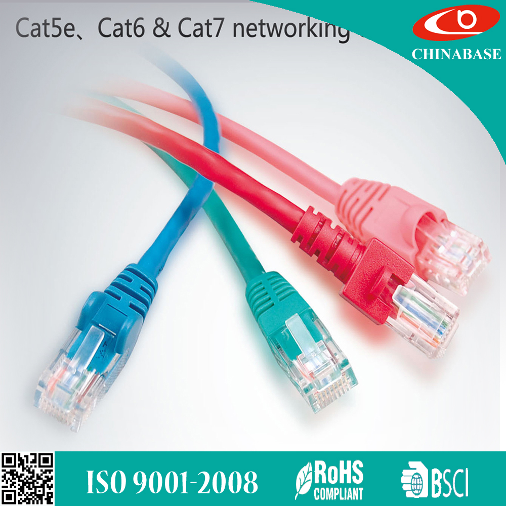 China Patch Cable Ethernet Wholesale Alibaba Cat 5e Cat6 Cables Flexible Wire With Conductor