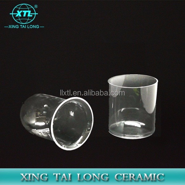 All Size Diameter Transparent and Opaque Polished Quartz Glass Ceramic Tube
