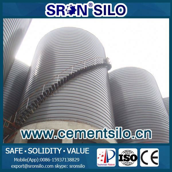 price cement silo 3000ton, SRON provide turn-key solution design for whole system