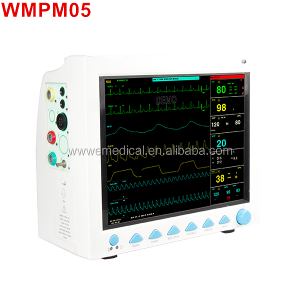 "WMPM05 CE approved 12"" Multi-Parameter Ambulance Patient Monitor"