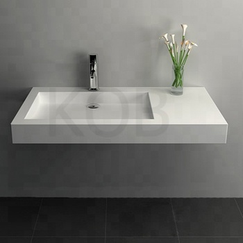 Solid Surface Wall Mounted Basin Vanity Sink Mount Top Sinks Product On Alibaba