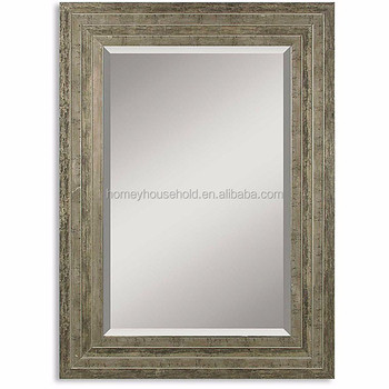 Best sale classic silver wood framed mirror buy classic for Silver framed mirrors on sale