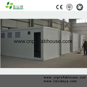 Prefab modular used 20ft container house luxury for sale