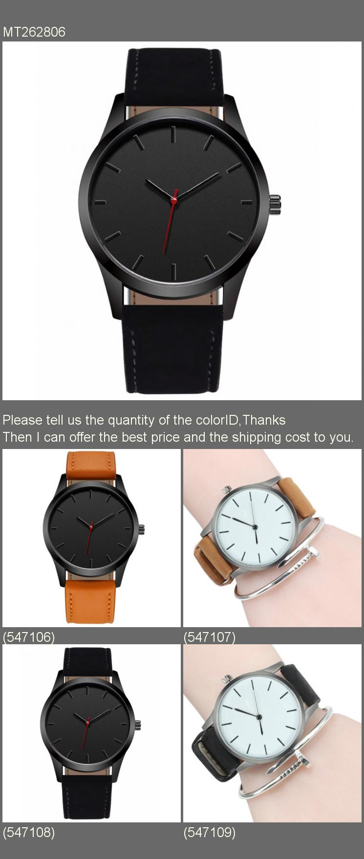 Fashion Large Dial Military Quartz Leather Sport watches High Quality Clock Wristwatch Relogio Masculino Men Watch