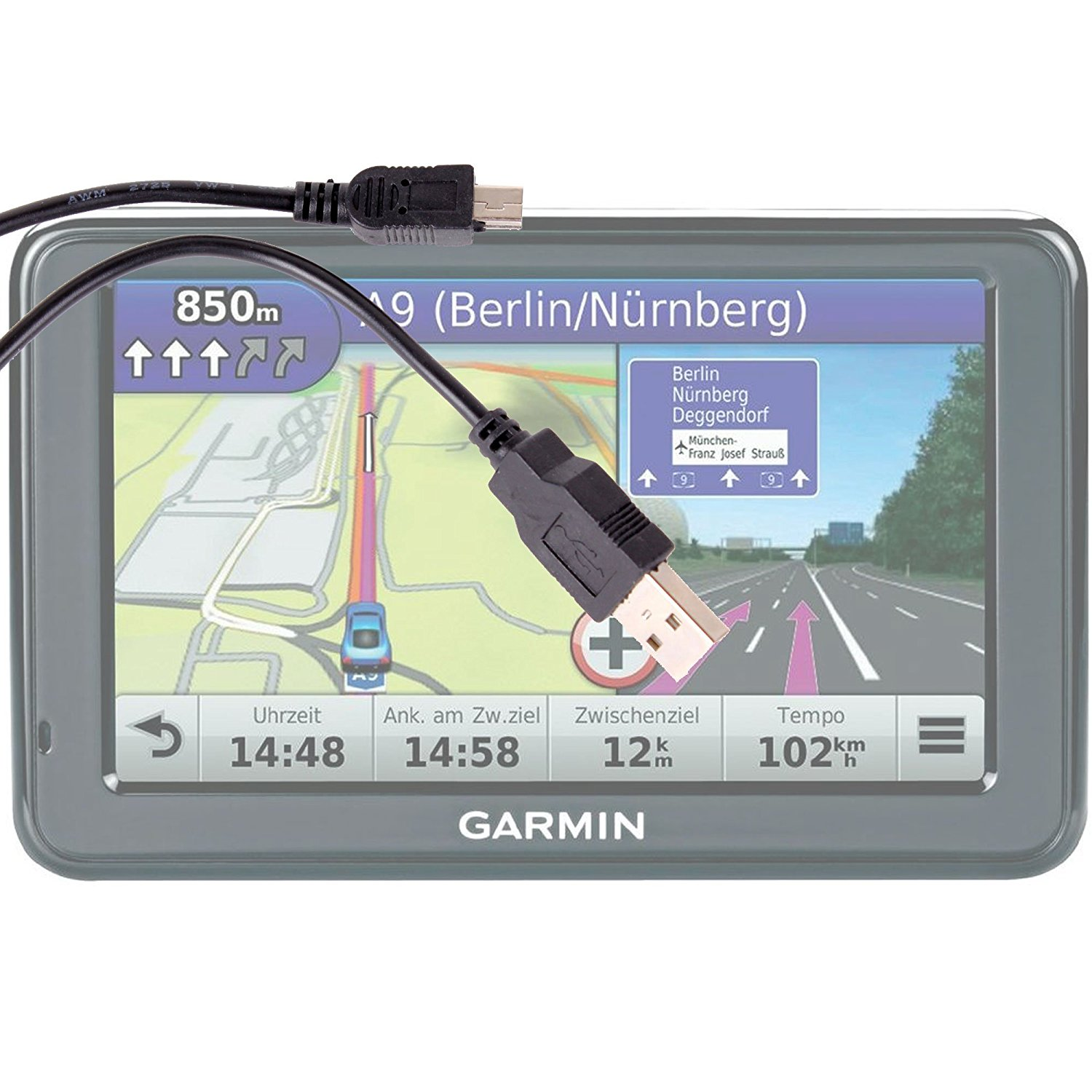 Cheap Garmin Usb Cable Pinout Find Deals On Schematic Get Quotations Duragadget Data Sync Charger For Nvi 1490t 1370t1310