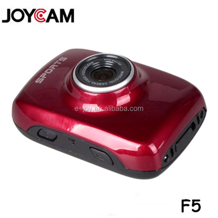 Best seller 2.0-inch touch screen professional car camera,sports camcorder waterproof 720p paypal accep&EJ-DVR F5