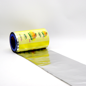 Online Shopping Laminated Printed Food Stock Plastic Wrapping Film Roll