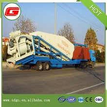 Small 25m3/h YHZS25 concrete batching plant liebherr machine prices in Shandong