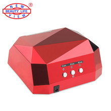 Diamond Shaped Nail Dryer Curing Nail Art Tools LED Lamp is Suitable For US EU Plug