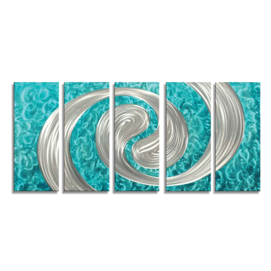 Abstract Metal Wall Art Decor
