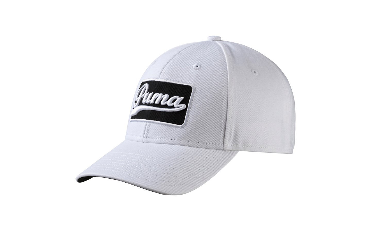 ab2eb611a19 Get Quotations · Puma Greenskeeper Adjustable Cap Golf Hat 052964 02  White Black 2016 New