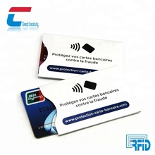 Credit card protector RFID blocking sleeve Credit card/debit card protector