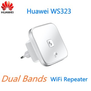 Original WIFI Extender 2 4/5 GHz Dual Bands WiFi Repeater Wireless Router  Huawei WS323