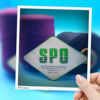 silk blended yarn and color yarn manufactured from SPO