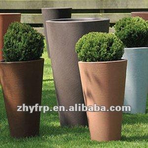 pot de fleur en fibre de verre de caf pot de cuivre pour la fleur jardini res et pots de fleurs